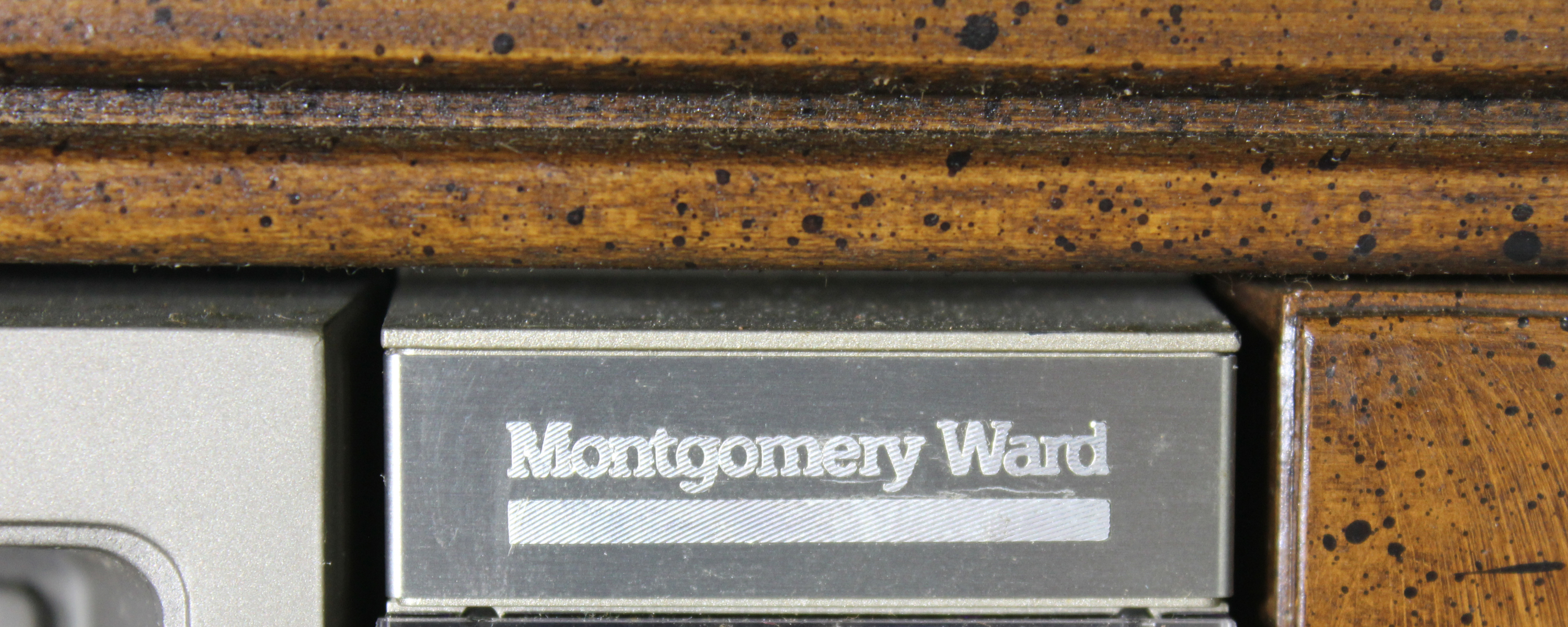 Co-branded for Montgomery Ward