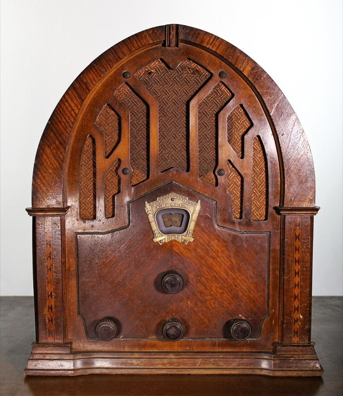 12. Crosley Catherdial Radio 1932