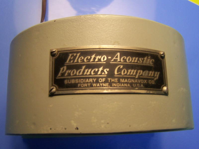 13. Electro-Acoustice Products label