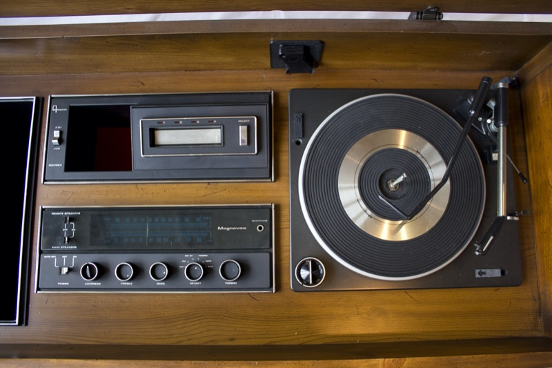 1974 8-Track Tape Deck