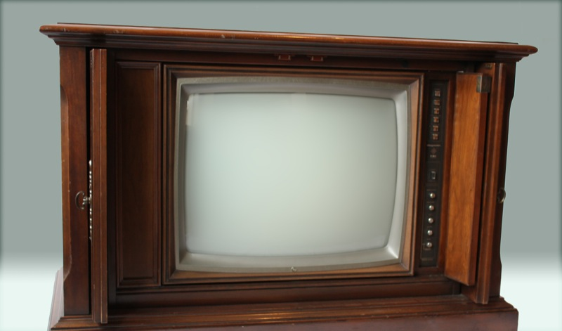 1974 Color TV Cabinet